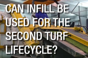 CAN INFILL BE USED FOR THE SECOND TURF LIFECYCLE